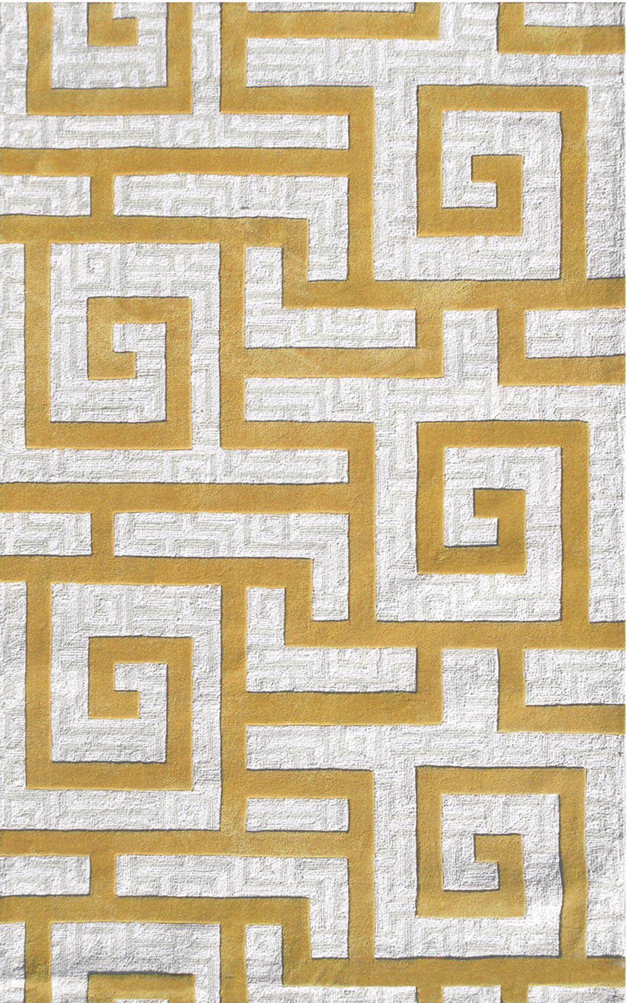 Charming Ecconox 72334 Rome Gold Area Rug