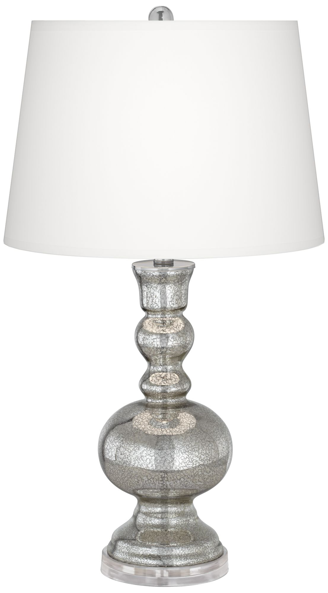 color plus mercury glass table lamp - Mercury Glass Lamps