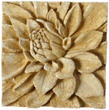 "Dahlia 13 1/2"" Square Pompeii Outdoor Wall Plaque"
