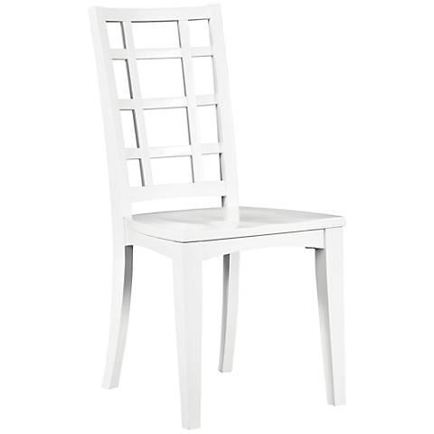 Kenley White Desk Chair