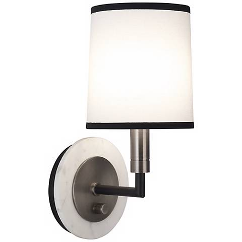 Robert Abbey Axis Blackened Nickel Wall Sconce
