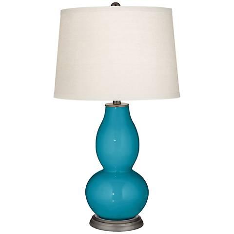 Caribbean Sea Double Gourd Table Lamp