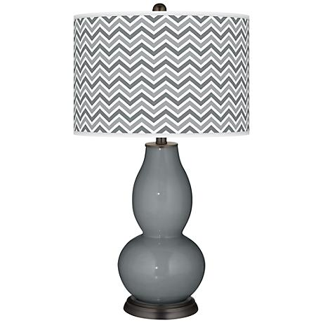 Software Narrow Zig Zag Double Gourd Table Lamp