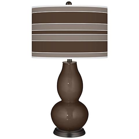 Carafe Bold Stripe Double Gourd Table Lamp