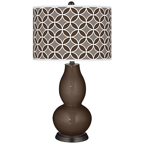Carafe Circle Rings Double Gourd Table Lamp