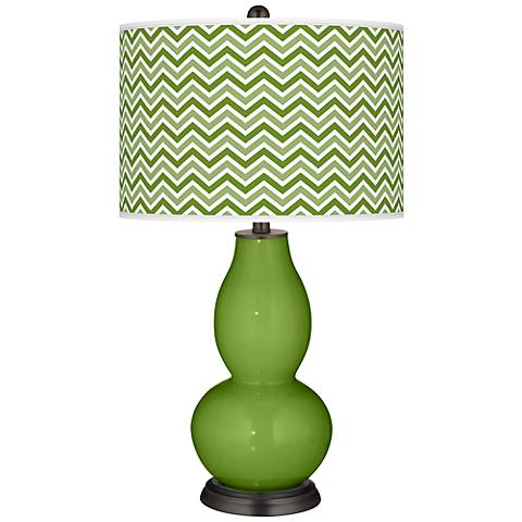 Gecko Narrow Zig Zag Double Gourd Table Lamp