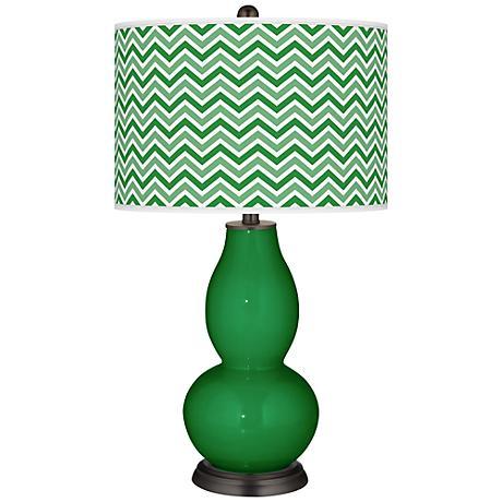 Envy Narrow Zig Zag Double Gourd Table Lamp