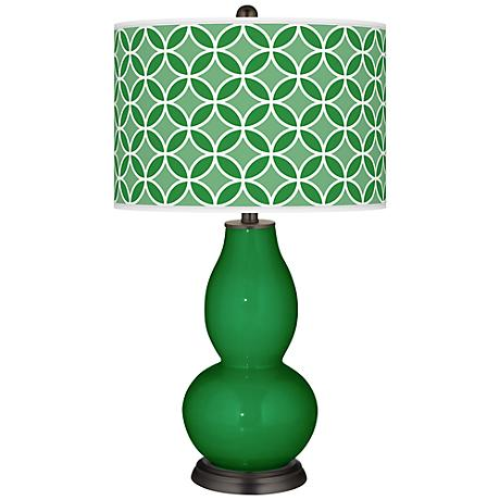Envy Circle Rings Double Gourd Table Lamp