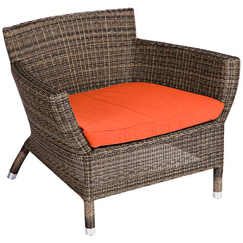 Osiris Collection Cayenne Wide Outdoor Low Armchair