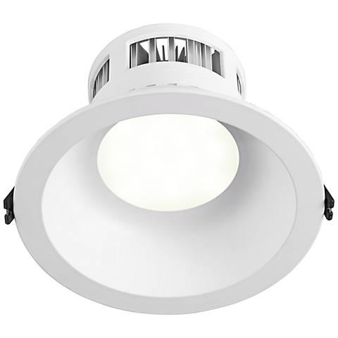 """6"""" Recessed 12 Watt 3000K LED Retrofit Trim in White"""