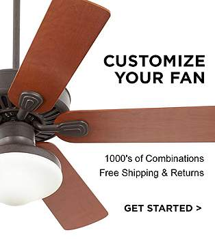 Tropical lamps plus design your own ceiling fan 10008217s of combinations aloadofball Gallery