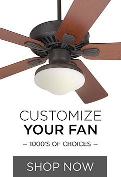 Design Your Own Ceiling Fan 1000 S Of Combinations