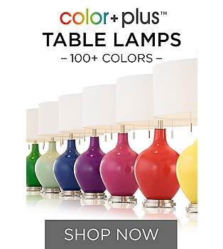 Table lamps designer styles best selection lamps plus colorful table lamps amp more in 150 designer colors aloadofball Gallery