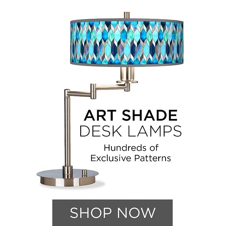 Art Shade Desk Lamps