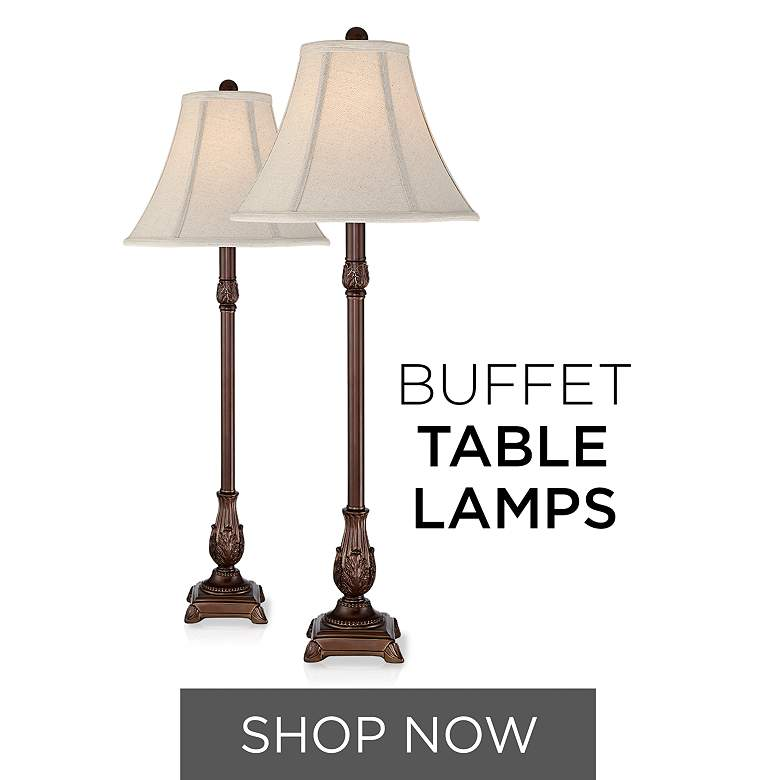 Browse Buffet Table Lamps