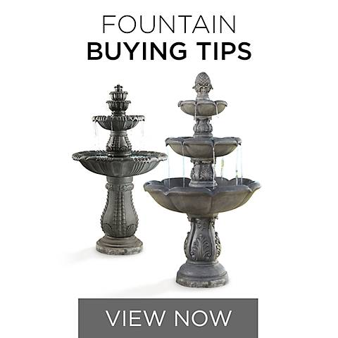 Fountain Buying Guide and Cleaning Tips