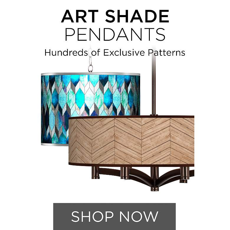 Browse Our Collection of Art Shade Pendant Lighting