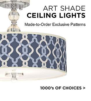 Close to ceiling light fixtures decorative lighting lamps plus browse our collection of art shade ceiling lights mozeypictures Images
