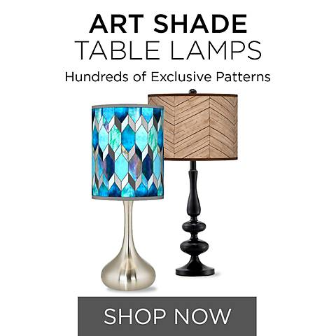 Shop Our Collection of Art Shade Table Lamps