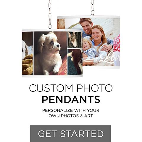 Custom Photo Pendant Lighting