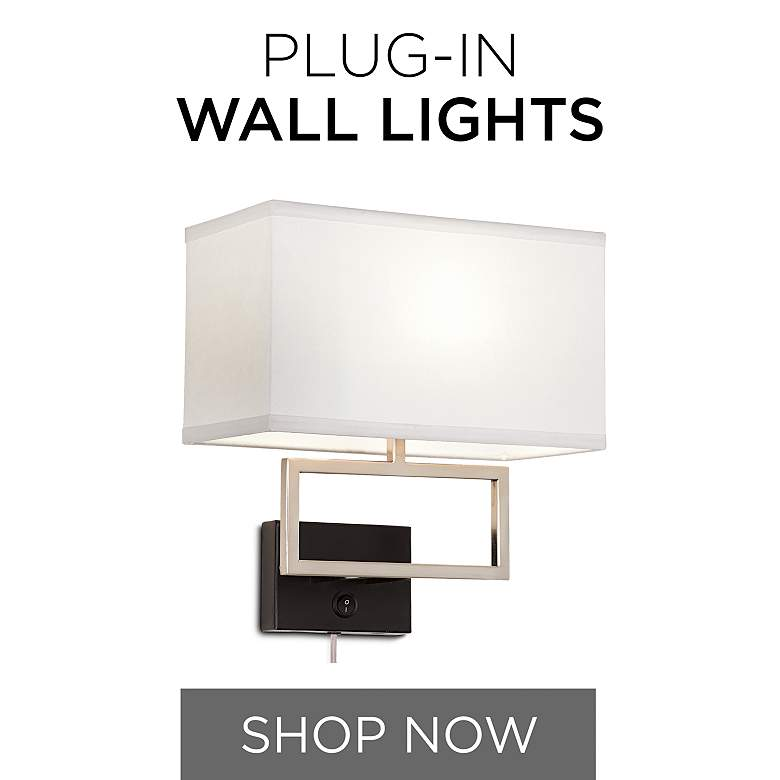 Plug-In Wall Lamps