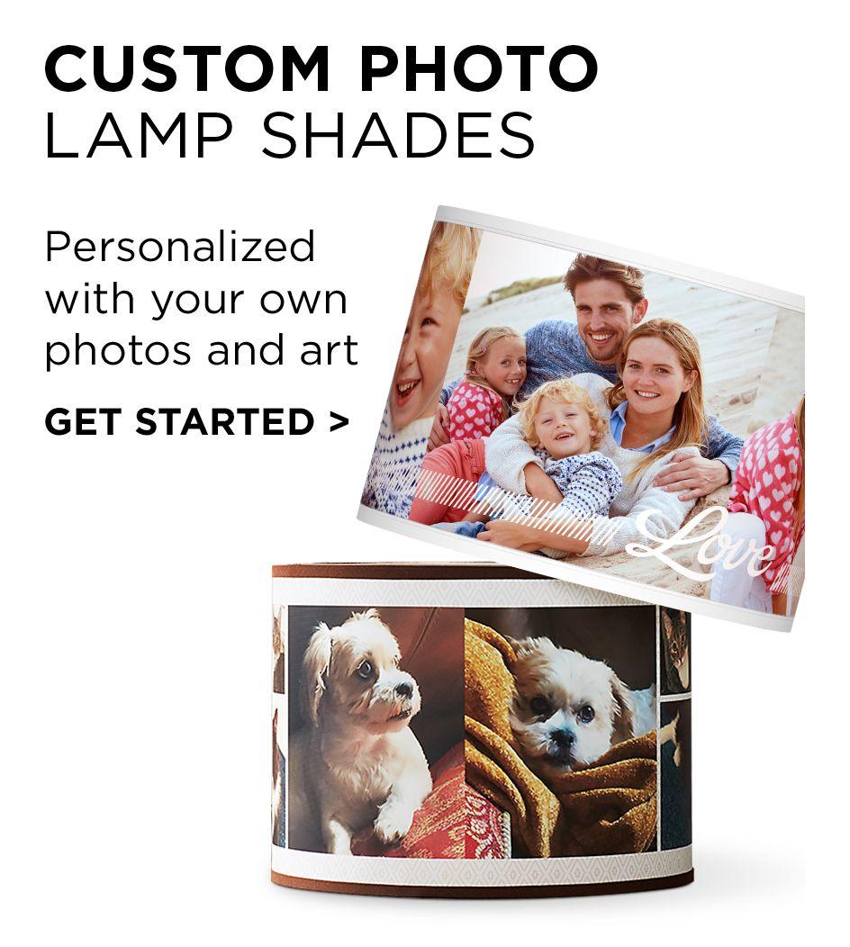 Custom Photo Lamp Shades