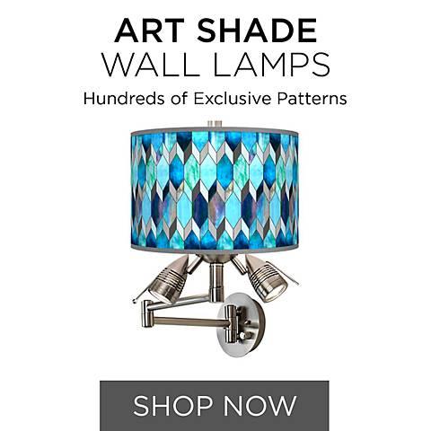 Art Shade Wall Lamps