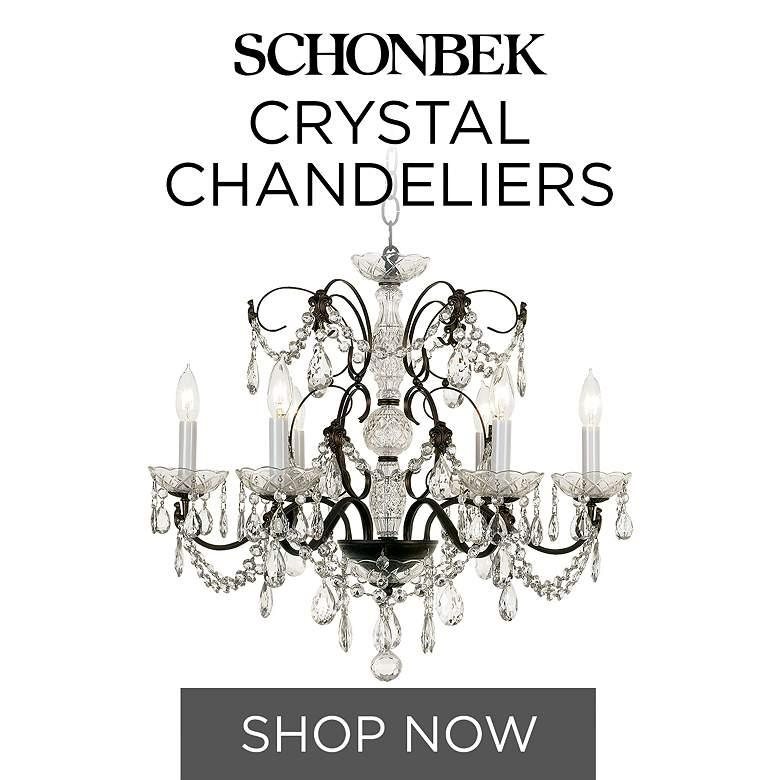 Schonbek Crystal Chandelier Store