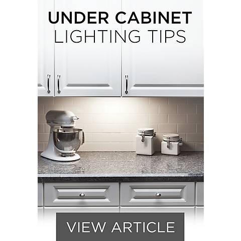 Under Cabinet Tips