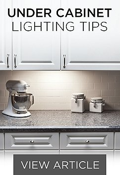 Under cabinet lighting counter lighting fixtures lamps plus under cabinet tips aloadofball Images
