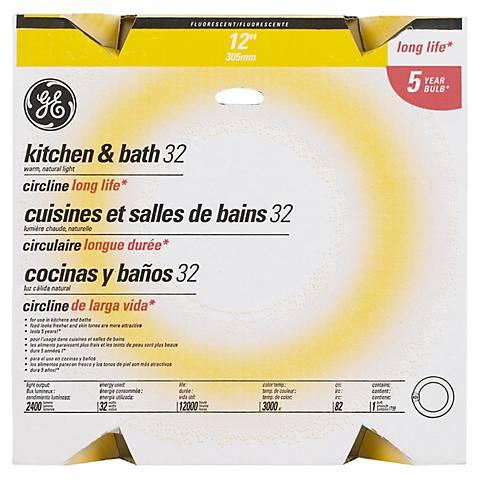 """GE Circle Fluorescent 12"""" / 32 Watt Light Bulb"""