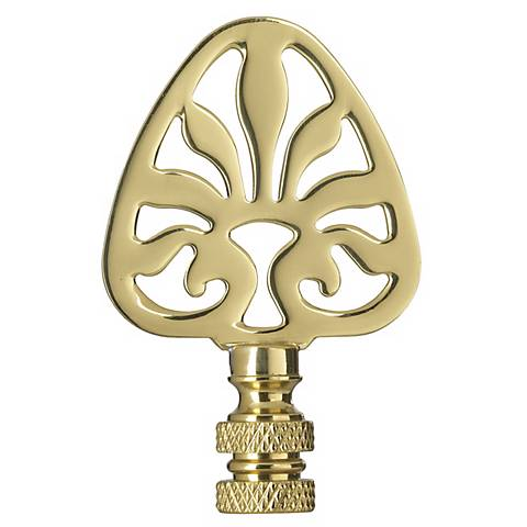 Solid Brass Ideogram Table Lamp Finial