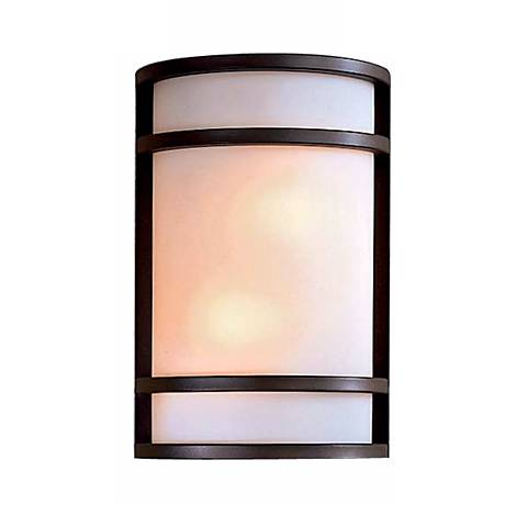 "Bay View Bronze 12"" High Outdoor Wall Light"