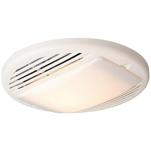 Craftmad 50CFM White Premium Bathroom Exhaust Fan with Light