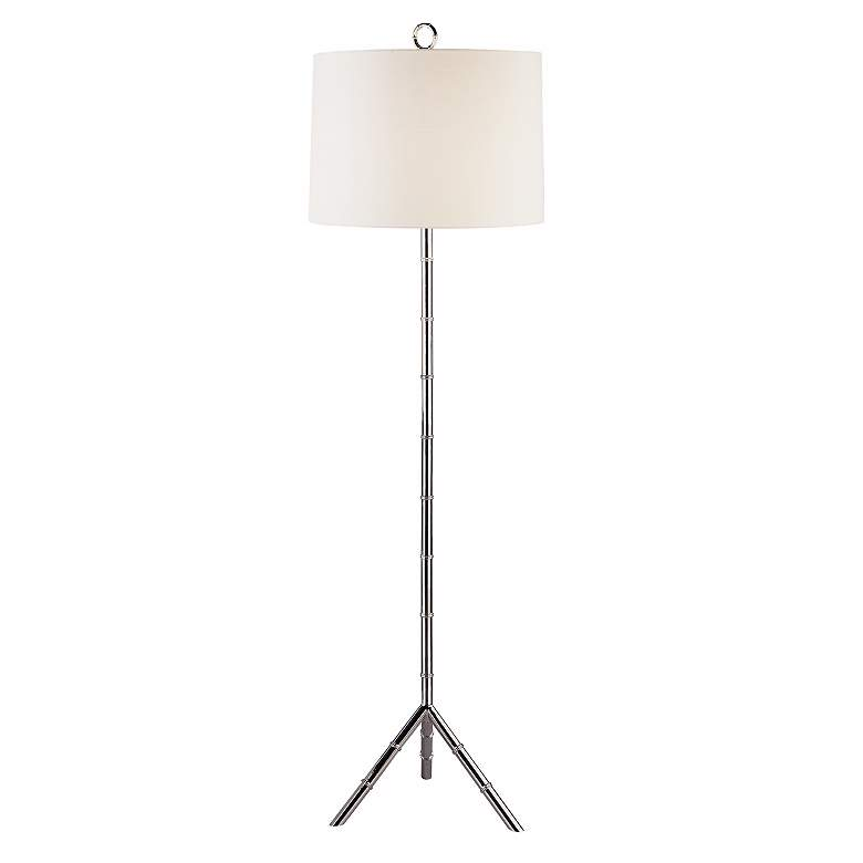 Jonathan Adler Meurice Polished Nickel Floor Lamp