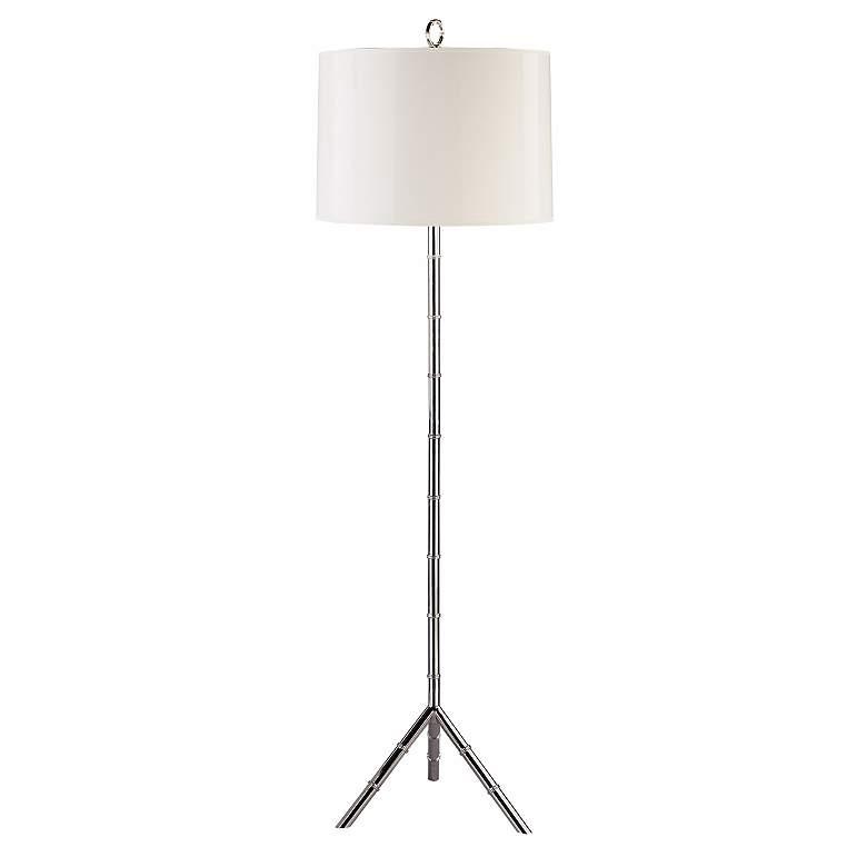 Jonathan Adler Meurice Silver Floor Lamp