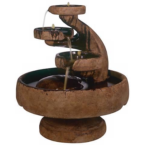"Henri Studio Mill 41"" High Tier Fountain"