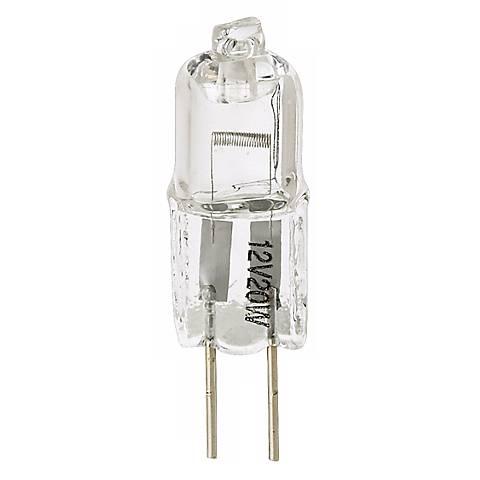 tesler 20 watt halogen g4 bi pin low voltage light bulb 02154 lamps plus. Black Bedroom Furniture Sets. Home Design Ideas