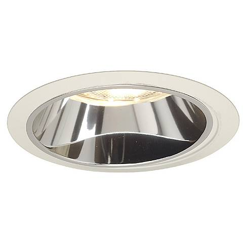 Juno 6 Line Voltage Clear Alzak White Recessed Light Trim
