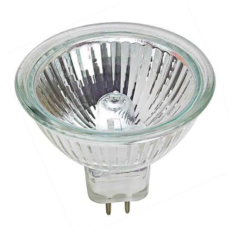 Tesler 50-Watt MR-16 40 Degree UV Filter Halogen Light bulb