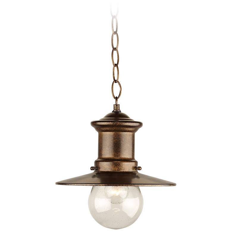 """Maritime Collection 10"""" High Outdoor Hanging  Light"""