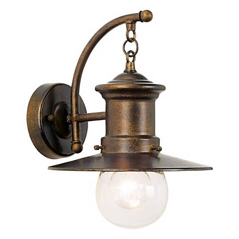 "Maritime Collection 12"" High Outdoor Wall Light"