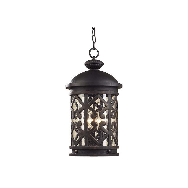 "Cambria 19"" High Hanging Outdoor Lantern"