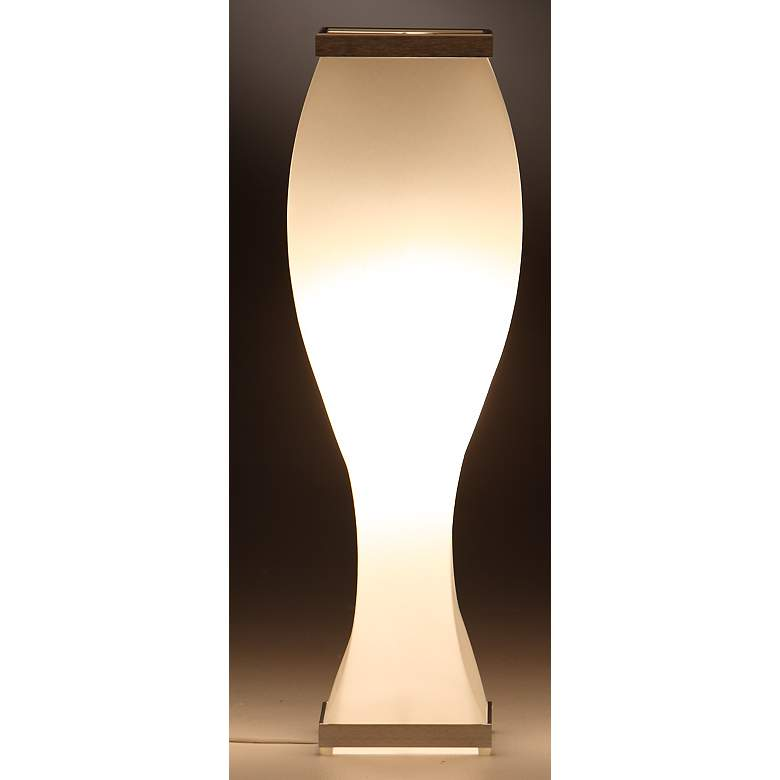 "Roland Simmons 26"" High Trovato Short Curve Table Lamp"