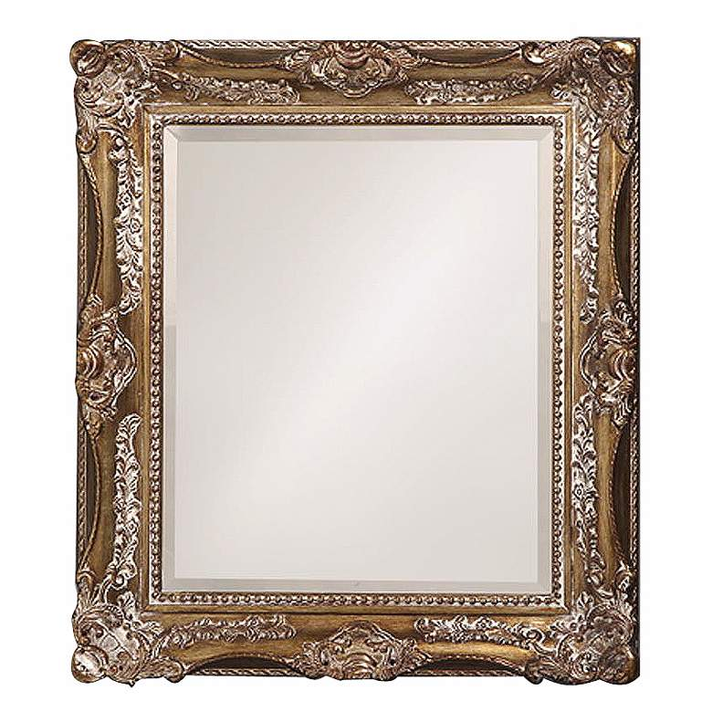 "Charlotte Bronze 28"" x 34"" Rectangular Wall Mirror"