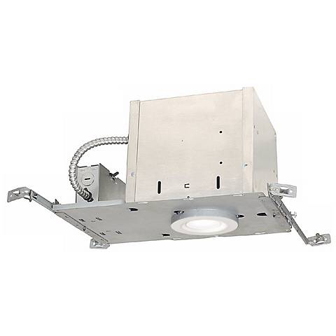 """4"""" IC New Construction Recessed Housing and LED Trim Kit"""