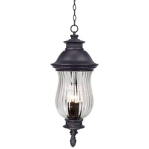 """Newport Collection 30 1/4"""" High Outdoor Hanging Lantern"""