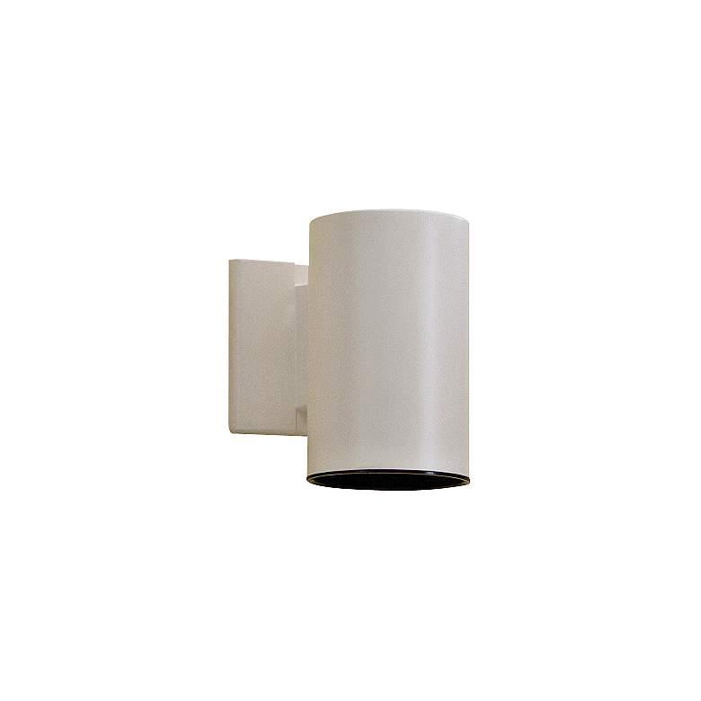 """Kichler Tube 7"""" High White Dark Sky Outdoor Wall Light"""
