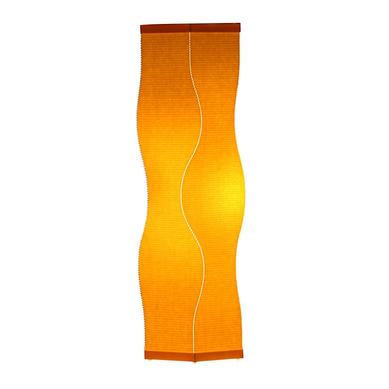 Roland Simmons Lumalight Curve Canary Yellow Table Lamp