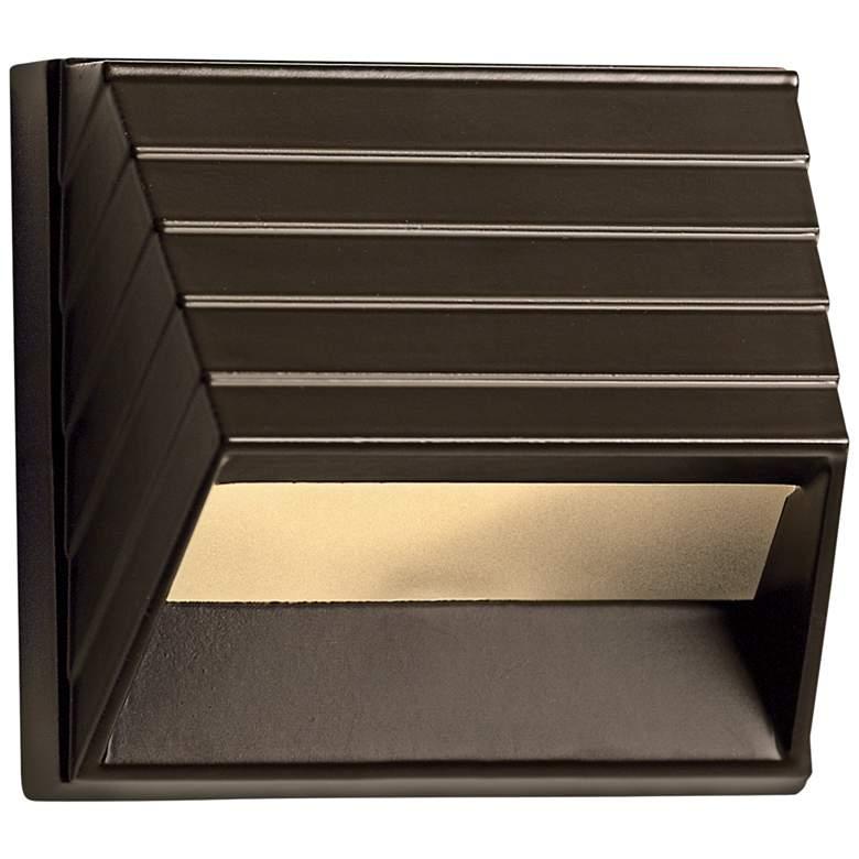 """Hinkley Afterhours 3 1/2""""W Bronze Low Voltage Deck"""